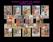 Tobacco Cigarette cards Famous Boys 1924 set